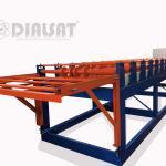 Máquina para fabricar telhas de aço